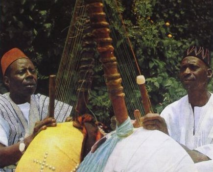 Sidiki Diabaté and Djelimadi Sissoko